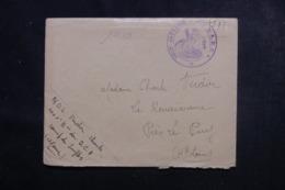 """FRANCE - Enveloppe En FM De Ganges Pour Le Puy, Cachet """" 106ème Batterie R.A.D.C.A. """" - L 44848 - Marcophilie (Lettres)"""