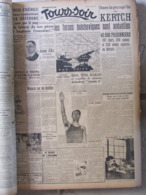Tours Soir - Plus De 400 Journaux Reliés De Janv 1942 à Déc. 1943 - Vie Tourangelle Pendant L'occupation - Exceptionnel - Kranten