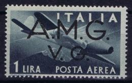 Italy: AMG-VG Sa PA 2 Broken G In AMG MH/* Flz/ Charniere - Ongebruikt
