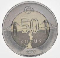 Turkey. Coin. 50 Kurus 2018. UNC. Bimetal - Turkije