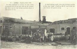 9752 CPA Arras - Un Obus Tombant Au Milieu De Cette Usine ......... - Arras