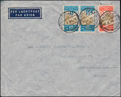 Flugpost NL-Indien - NL Brief Von BATAVIA 10.4.1935 Nach Amsterdam / Holland - Luftpost
