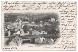LOBBES Panorama La GRATTIERE 1905 Non Divisée Pont De Chemin De Fer - Ed. Wilmet, Gilly - Lobbes