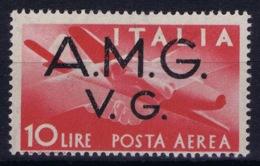 Italy: AMG-VG Sa PA 5 Broken G In AMG MH/* Flz/ Charniere - Ongebruikt