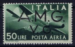 Italy: AMG-VG Sa PA 8 Broken G In AMG MH/* Flz/ Charniere - Ongebruikt