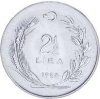 Turkey. 2.5 Lira1980. UNC - Turkije