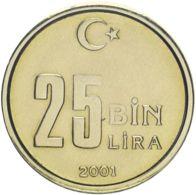 Turkey. 25,000 Lire2001. UNC - Turkije