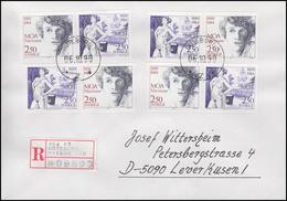 Schweden: Moa Martinson Schriftstellerin 1990 Auf R-FDC Göteborg 1.10.90 - Scrittori