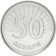 Macedonia. 50 Dinars2008. UNC - Macedonië