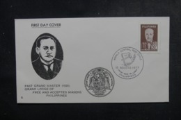 PHILIPPINES - Enveloppe FDC En 1977 - Grande Loge - L 44860 - Filipinas