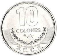 Costa Rica 10 Colons 2016 AU-UNC - Costa Rica