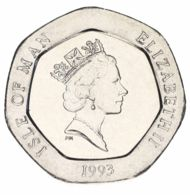 Isle Of Man 20 Pence 1993 AU-UNC - Île De  Man