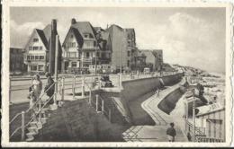 De Haan A/zee - Coq-sur-Mer - Digue (côté Ouest) 1960 - De Haan