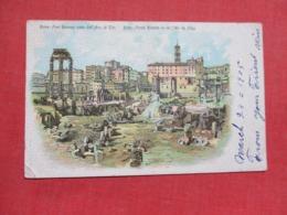 Europe > Italy > Lazio > Roma (Rome) 1905 Stamp & Cancel      Ref 3679 - Roma (Rome)