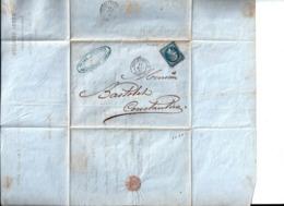 Henri Teissier Commissionnaire De Transit & De Roulage à Philippeville à M. Bastolet ( Bastollet ?) à Constantine 1863. - Other