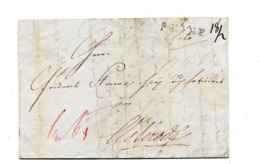 Lettre Cachet Peine + ? - [1] ...-1849 Voorlopers