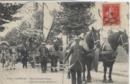 59, Nord, CAMBRAI, Marche Historique - Char Du Congrès Des Plaisirs, Scan Recto Verso - Cambrai