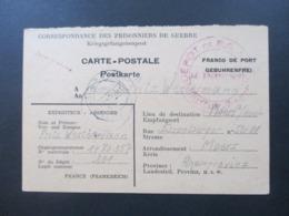 POW 2. WK Frankreich Depot De PG Lager Nummer 201 Pouxeux (Vosges) Prisonniers De Guerre - Zone AAS