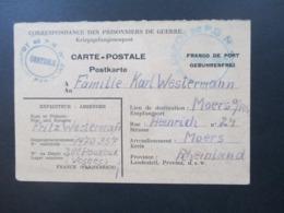 POW 2. WK Frankreich Depot De PG Lager Nummer 201 Pouxeux Prisonniers De Guerre - Zone AAS