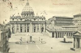Roma - Piaza E Basilica Di S. Pietro - San Pietro