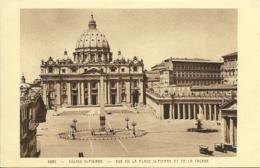 Roma - Eglise St Pierre - Vue De La Place - San Pietro