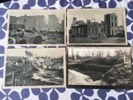 Lot Cartes Premiere Guerre Mondiale Erster Weltkrieg X8 Southofen Thelus Monchy - Guerre 1914-18