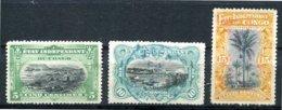 Congo - Etat Indépendant - 1894/1890 - Yt 14 - 18 - 20 - Oblitérés - Belgisch-Kongo