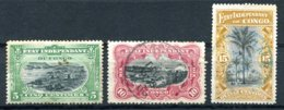 Congo - Etat Indépendant - 1894/1890 - Yt 14 - 19 - 20 - Oblitérés - Belgisch-Kongo