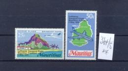 MAURITIUS -  364/5  Lufthansa 1970  Kompl. Postfrisch - Maurice (1968-...)
