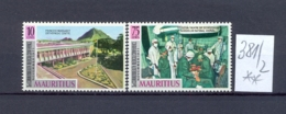 MAURITIUS -  381/2  Konferenz Ärtzte  Kompl. Postfrisch - Maurice (1968-...)