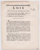 Révolution Française Bulletin Des Lois Et Décret 1792 Lot De 2 Documents Originaux Danton Planta Duport Grenoble Isère - Documents Historiques