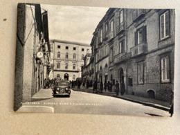 POTENZA ALBERGO ROMA E PIAZZA MATTEOTTI  1952 - Potenza