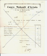 """Cours Mahaut D'Artois à Arras. Société """"Pour La Femme Et Le Foyer"""" Maison De Famille. Alice Guéry. à Ablainzelle. 1929. - Other"""