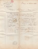 Aube - Troyes - J.Baltet - Fabrique De Coutils Et Doublures 1868 - 1800 – 1899