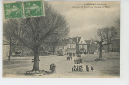 SALIGNAC - Avenue Et Place Du Champs De Mars - Andere Gemeenten