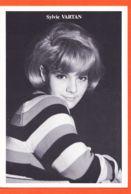 Wes141 SYLVIE VARTAN 1960s Pull Laine Rayé REPRODUCTION Série LES ANNEES 60 Photo Patrick BERTRAND - Chanteurs & Musiciens