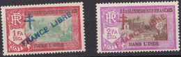 Inde N° 164-165** - Indië (1892-1954)