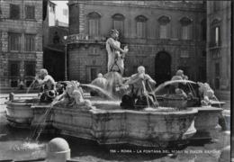 ROMA - FONTANA DEL MORO - PIAZZA NAVONA - EDIZ. RIECHTER - NUOVA - Plaatsen & Squares