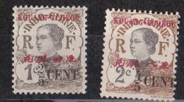 Kouang-T'chéou  N°35 Et 36** - Unused Stamps