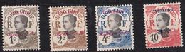 ⭐ Yunnanfou - YT N° 33 à 35 ** + 37 - Neuf Sans Charnière - 1908 ⭐ - Unused Stamps