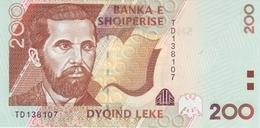 ALBANIA P. 67 200 L 2001 UNC - Albania