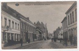 BELGIUM Thielt - Tielt ~ Kortrijkstraat Midden Cachet Militaria Général 7ème Subdivision Saint OMER - Tielt
