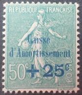 R1189/147 - 1927 - TYPE SEMEUSE LIGNEE - CAISSE D'AMORTISSEMENT - N°247 NEUF** BON CENTRAGE - Caisse D'Amortissement