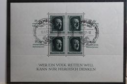 Deutsches Reich Block 9 Gestempelt #TB838 - Ohne Zuordnung