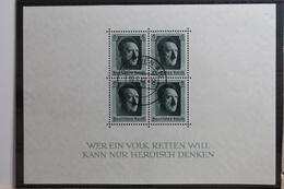 Deutsches Reich Block 7 Gestempelt #TB839 - Deutschland