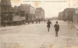 76* LE HAVRE   Train Des Quais     MA96,0504 - Non Classés