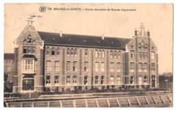 Braine Le Comte école Normale De Bonne Espérance 26 Timbre Manquant - Braine-le-Comte