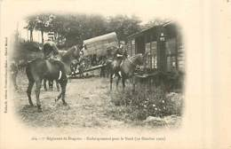 77* MILITARIA 7e Dragons –embarquement  (1902)      MA96,0615 - Militaria
