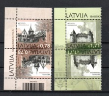 Europa CEPT 2017 Latvija Tete-Beche MNH - 2017