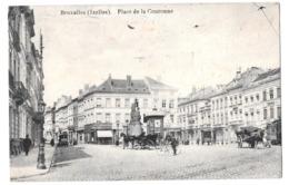 Bruxelles (ixelles) Place De La Couronne 1912 Edit Colignon - Avenues, Boulevards